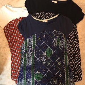 Anthropologie blouse bundle.